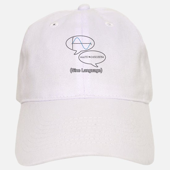 Sine Language Baseball Baseball Cap