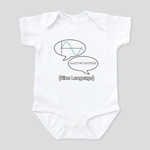 Sine Language Infant Bodysuit