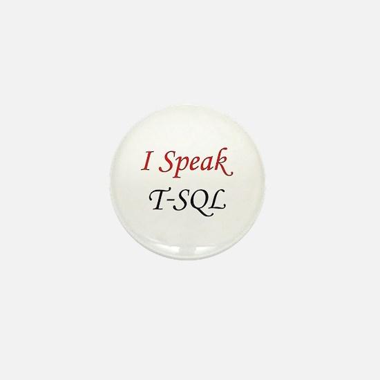 """""""I Speak T-SQL"""" Mini Button"""