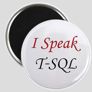 """""""I Speak T-SQL"""" Magnet"""