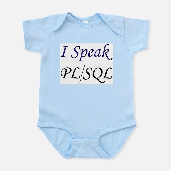 """""""I Speak PL/SQL"""" Infant Creeper"""