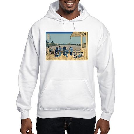 Hokusai Sazai Hall Hooded Sweatshirt