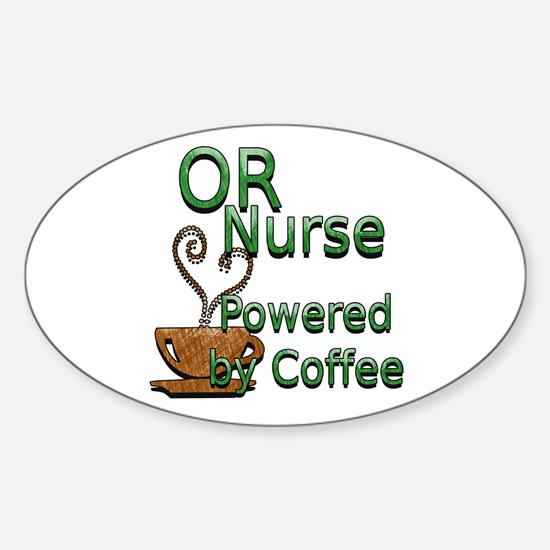 Cute Operating room Sticker (Oval)