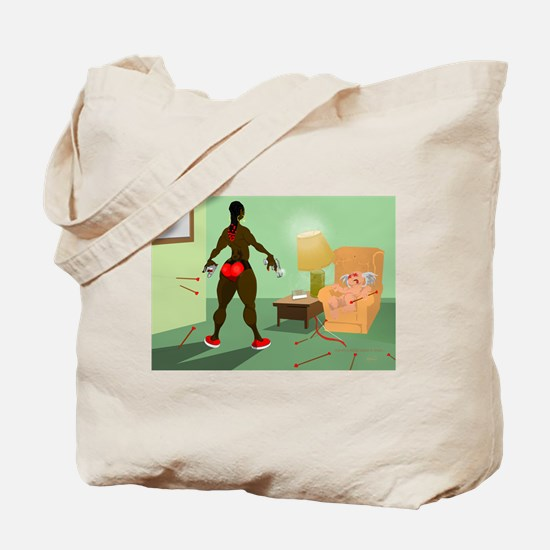 """There's A New Cupid In Town"" Tote Bag"