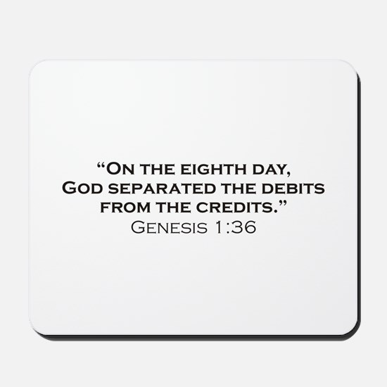 Debits / Genesis Mousepad