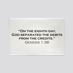 Debits / Genesis Rectangle Magnet