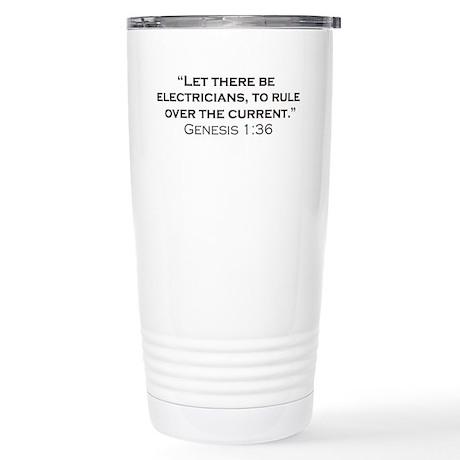 Electricians / Genesis Stainless Steel Travel Mug