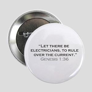 """Electricians / Genesis 2.25"""" Button"""