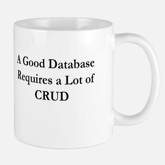 """I Speak SQL"" & CRUD Mug"