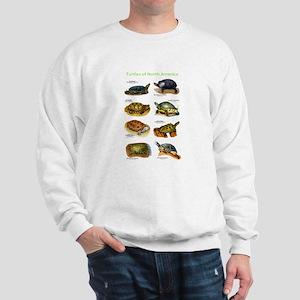 Turtles of North America Sweatshirt