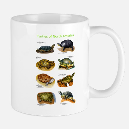 Turtles of North America Mug