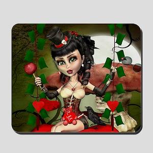 Candy Apple Love Lolita Mousepad