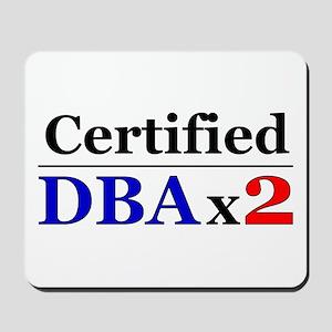 """DBAx2"" Mousepad"