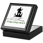 In Memory of a Logger Keepsake Box