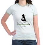 In Memory of a Logger Jr. Ringer T-Shirt