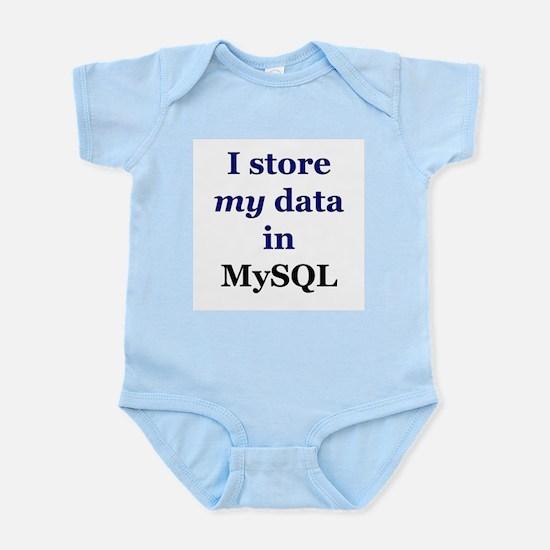 """I store my data in MySQL"" Infant Creeper"