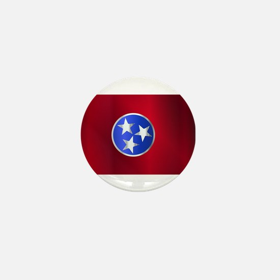 Flag of Tennessee Gloss Mini Button
