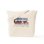 Crime Inc Tote Bag