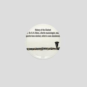 The Quarter-Tone Clarinet Mini Button