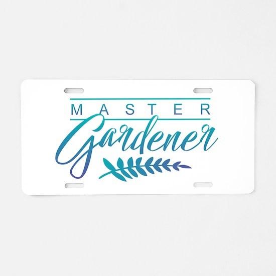 Master Gardener Aluminum License Plate