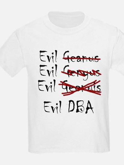 """""""Evil DBA"""" Kids T-Shirt"""