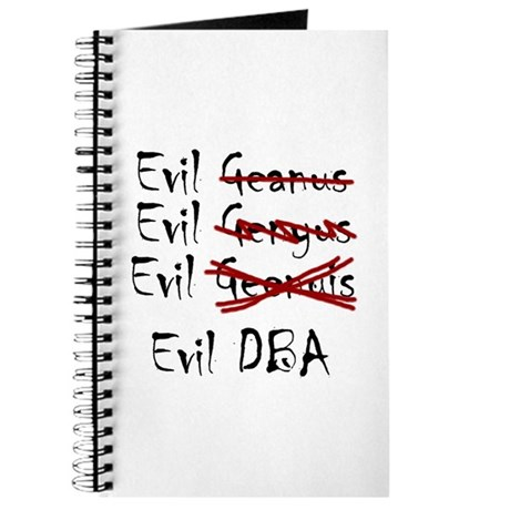 """Evil DBA"" Journal"