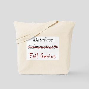 """""""DB Evil Genius"""" Tote Bag"""