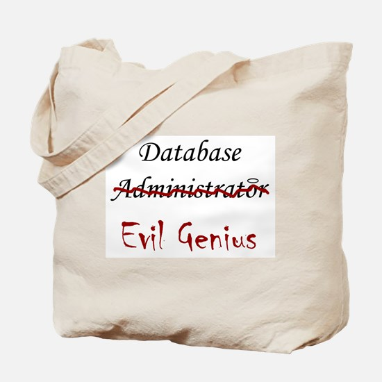 """DB Evil Genius"" Tote Bag"