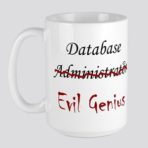 """DB Evil Genius"" Large Mug"