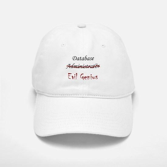 """""""DB Evil Genius"""" Baseball Baseball Cap"""