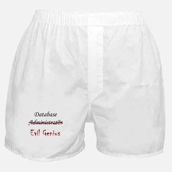 """DB Evil Genius"" Boxer Shorts"
