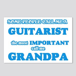 Some call me a Guitarist, Postcards (Package of 8)