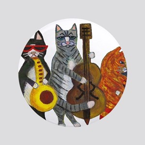 "Jazz Cats 3.5"" Button"
