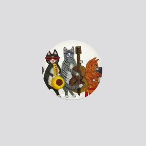 Jazz Cats Mini Button