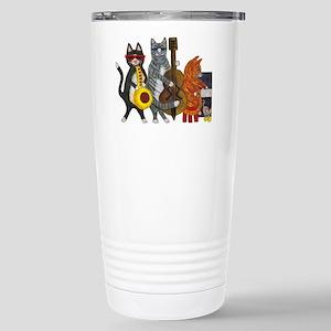 Jazz Cats Stainless Steel Travel Mug