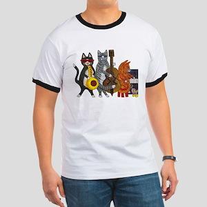 Jazz Cats Ringer T