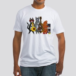 Jazz Cats Fitted T-Shirt