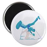 """Street Breakdancer 2.25"""" Magnet (10 pack)"""