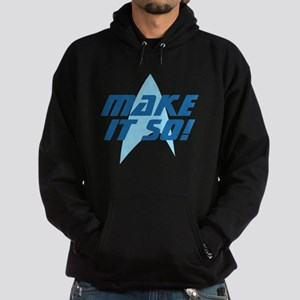 Star Trek: Make It So! Hoodie (dark)