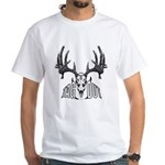 Whitetail deer,tag out White T-Shirt