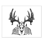 Whitetail deer,tag out Small Poster