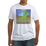 T-Rex Early Football Fitted T-Shirt