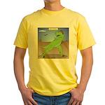 T-Rex Early Football Yellow T-Shirt