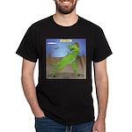 T-Rex Early Football Dark T-Shirt