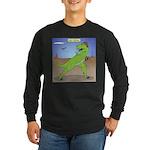 T-Rex Early Football Long Sleeve Dark T-Shirt