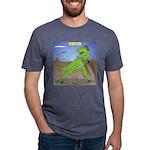 T-Rex Early Football Mens Tri-blend T-Shirt