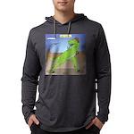 T-Rex Early Football Mens Hooded Shirt