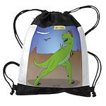 T-Rex Early Football Drawstring Bag