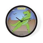 T-Rex Early Football Wall Clock