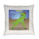 T-Rex Early Football Everyday Pillow